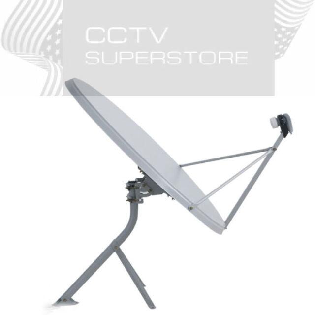 39 inch 99 cm satellite tv ku band dish antenna fta lnb ebay