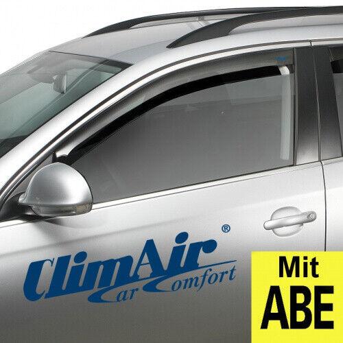 Windabweiser BMW  X3 I E83 5-türer 2003-2010 2-tlg HEKO dunkel Regenabweiser