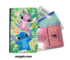 lilo et stitch 01-001  étui pochette carte grise carte d'identité permis
