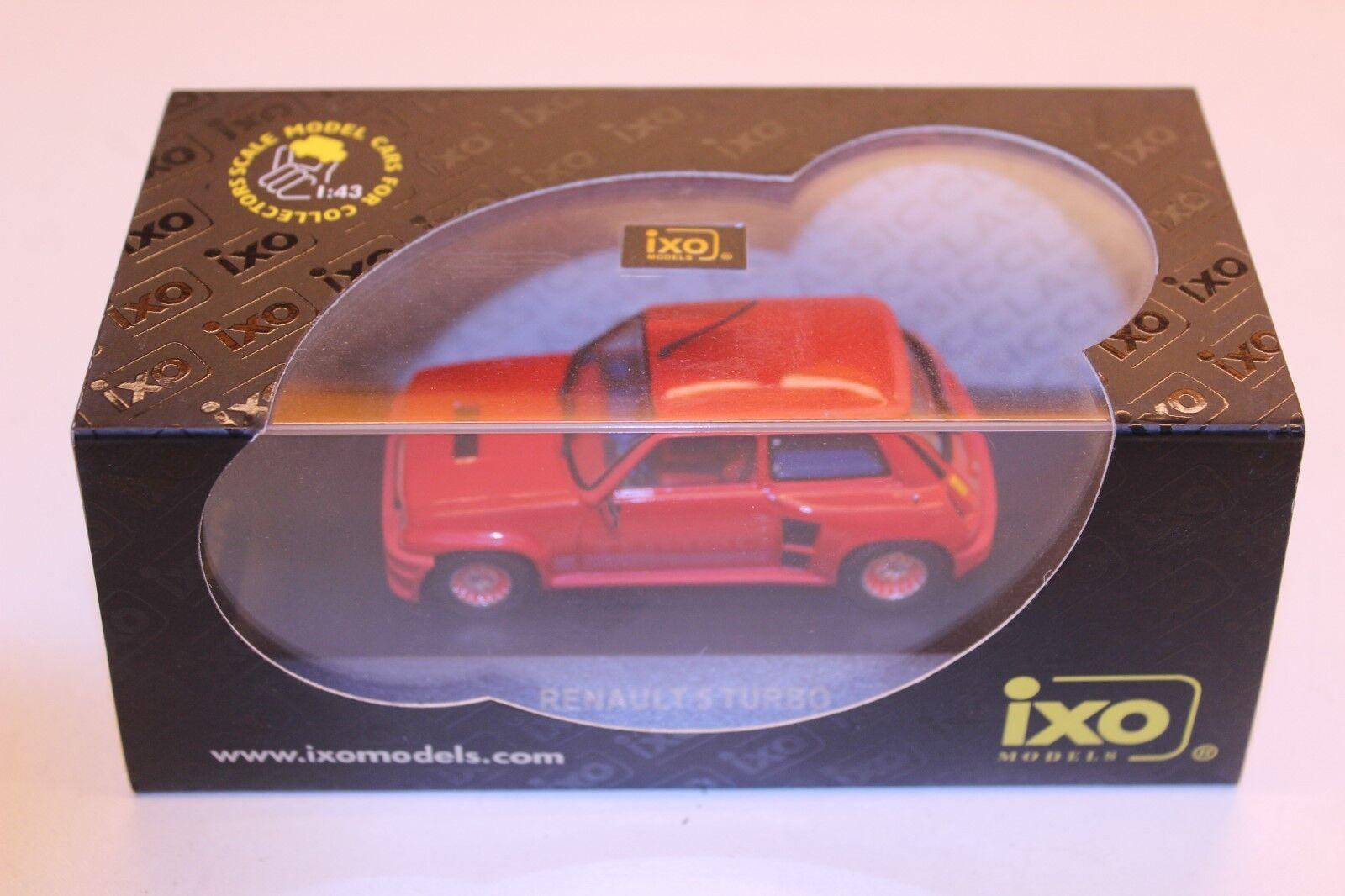 IXO Renault 5 Turbo rot CLC009 1 43 rot