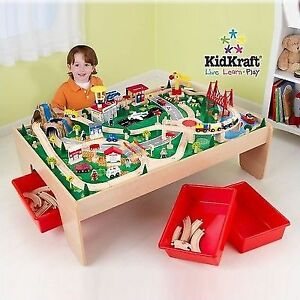 Kidkraft 17850 Waterfall Mountain Train Set and Table  sc 1 st  eBay & Kidkraft 17850 Waterfall Mountain Train Set and Table | eBay