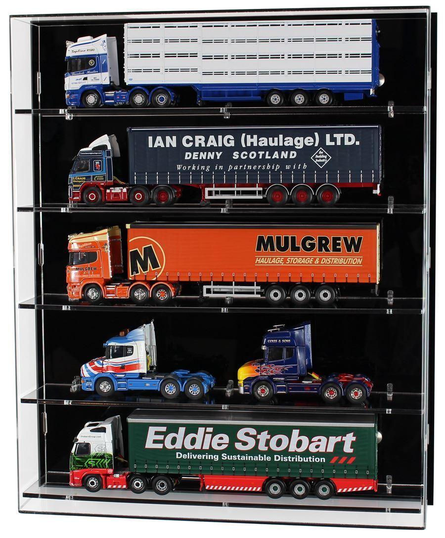 Acrylic model Wall tonen geval voor 1 50 Scale model Trucks --5 Shelves