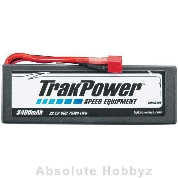 connotación de lujo discreta Trakpower Lipo 6s 22.2 v 3400mah 3400mah 3400mah 60c Funda Rígida Deans-tkpc0455  entrega gratis
