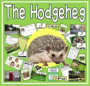 CD THE HODGEHEG STORY TEACHING RESOURCES EYFS KS12 HEDGEHOG ROAD