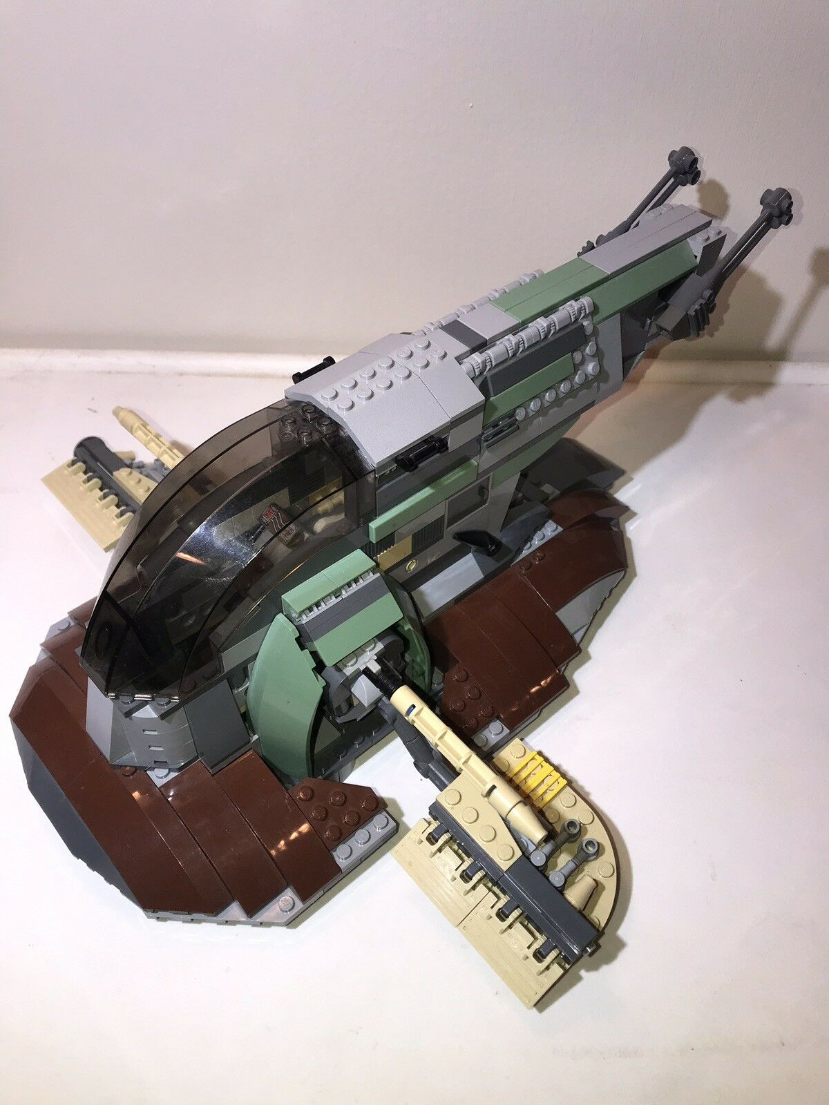 Lego Star Wars Slave I Second Edition 6209 No Mini Figs Or Instructions