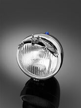 Highway Hawk Motorcycle Headlight/Fender Small Visor Bat Ornament BC31737 - T