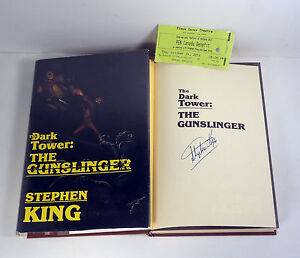 Stephen-King-The-Gunslinger-Signed-Autograph-1st-Edition-1st-Printing-Book
