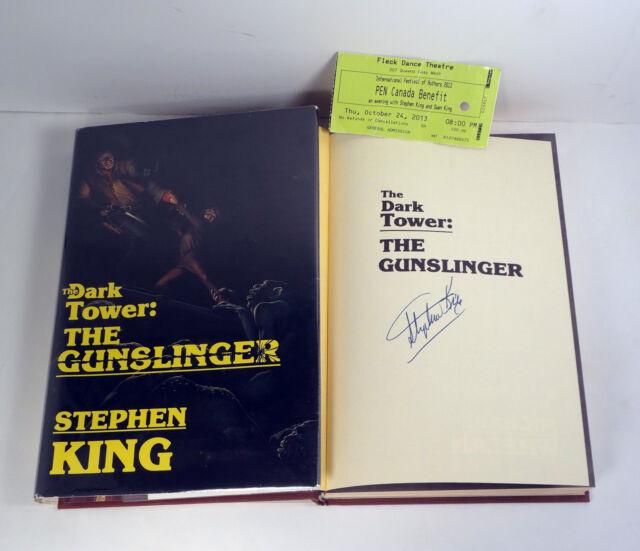 STEPHEN KING SIGNED THE DARK TOWER THE GUNSLINGER 1ST EDITION/1ST PRINT PROOF
