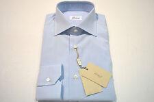 NEW  BRIONI Dress SHIRT 100% Cotton Size 15  Us 38 Eu  (Store Code M)