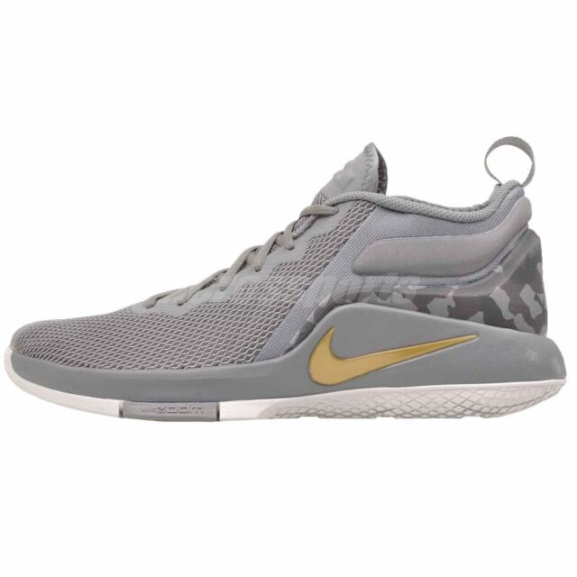 purchase cheap b31f6 2bbc9 Nike Lebron Witness II Basketball Mens Shoes Cool Grey 942518-009