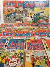 Vintage Silver Age Archie Series Pep, Laugh, Pals N Gals ( Lot Of 15 ) VG+