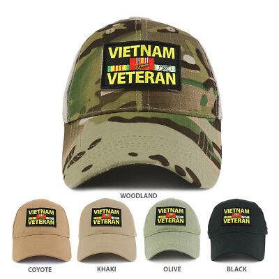 XXL Oversize Vietnam Veteran Large Patch Baseball Cap FREE SHIPPING