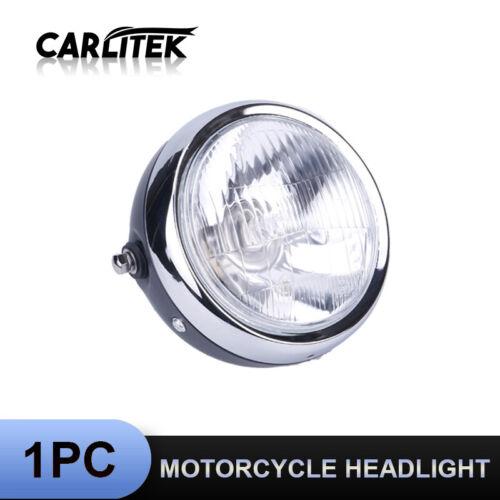 6/'/' Retro Motorcycle Round Headlight High//Low Beam For Honda CG125 Harley Dyna
