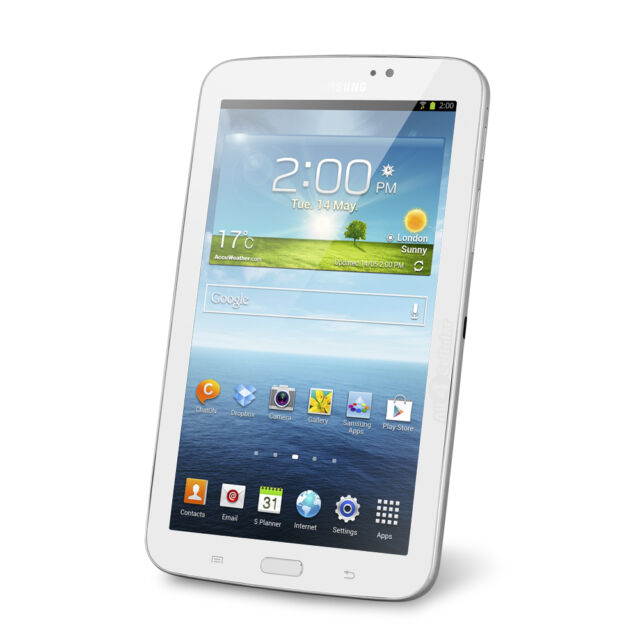 "Samsung Galaxy Tab 3 7.0 SM-T217S 16GB Wi-Fi + 4G Sprint 7"" Android Tablet"