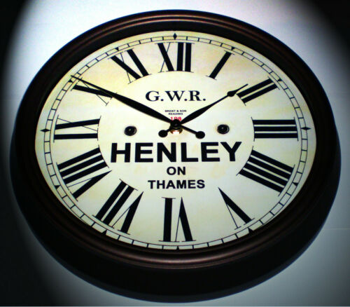 Henley-on-Thames Station Great Western Railway GWR Victorian Style Clock