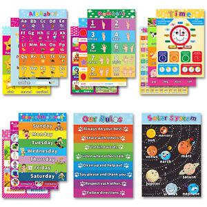Educational-Alphabet-Poster-for-Toddlers-Kids-Room-Kindergarten-Decor-14pcs