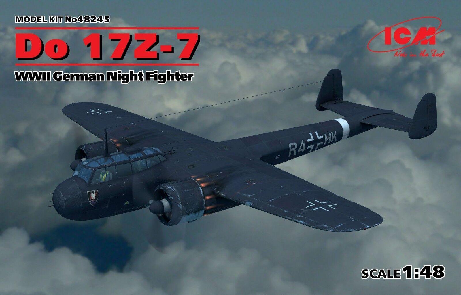 Do 17Z-7, WWII German Night Fighter 1 48 ICM 48245