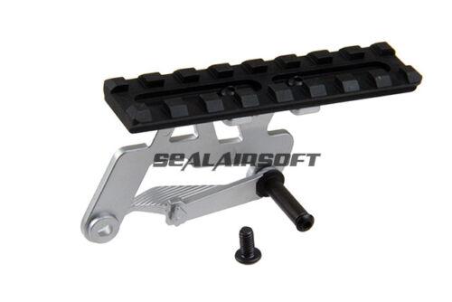 5KU-GB458-SV 5KU Airsoft Toy Rail Mount Base For TM Hi-Capa GBB Silver