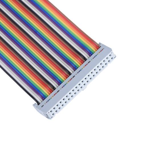 T-Shaped 40 Pin GPIO Extension Board w//40 Pin Kabel Raspberry Pi B ☆