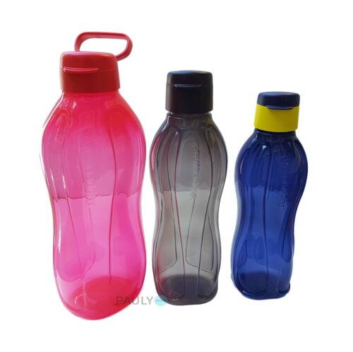 0,75l dunkelblau Trinkflasche Flaschen Tupperware EcoEasy 2 l rot 1l schwarz
