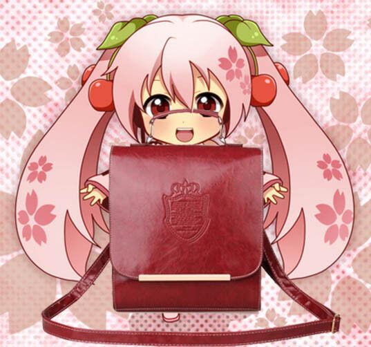 Hot Japanese Uniform Backpack Lolita Cosplay School Shoulder Bag Rucksack 5color