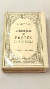 Anthologie-des-Poetes-by-MAYNIAL-Hardcover-1935-01-01-Good