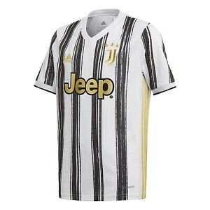 Adidas Juventus Home  Soccer Jersey 20/21 Black White Gold Size Mans Small Only
