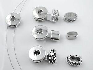 armband ketten verschl sse druckknopf snap button schmuck selber machen ebay. Black Bedroom Furniture Sets. Home Design Ideas