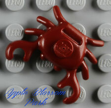 NEW Lego Belville DARK RED CRAB Ocean Animal Friends/Pirate Minifig Kitchen Food