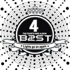 B2ST BEAST -[ Lights go on Again ] 4th Mini Album Normal Edition New Sealed