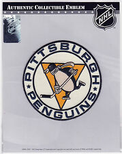 2011 PITTSBURGH PENGUINS OFFICIAL NHL HOCKEY ALT TEAM LOGO PATCH MINT IN PACKAGE