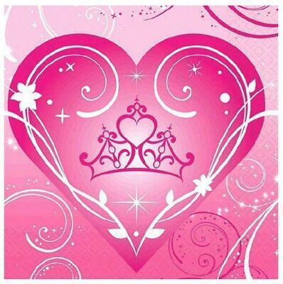 Princess Sparkle and Shine Beverage Paper Napkins 16ct