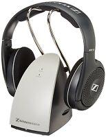 Cordless Wireless Headphones On Ear Sennheiser Audio Computer Radio Tv Hi-fi