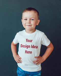 Childrens T-shirt Your Own Personalised design idea T-shirt or bodysuit kids