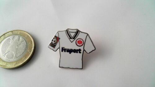 Eintracht Franfurt SGE Trikot Pin Badge Fraport weiß