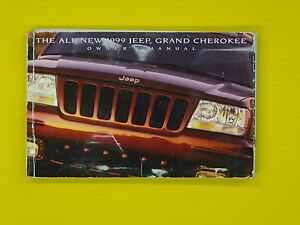 grand cherokee 99 1999 jeep owners owner s manual oem factory rh ebay com 1999 jeep wrangler service manual 1999 jeep owners manual free