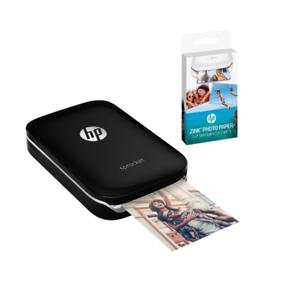 HP-Sprocket-100-negros-x7n08a-moviles-foto-impresora-Bluetooth-5-x-7-6cm-2x3-pulgadas