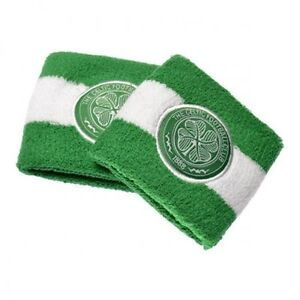 Image is loading Celtic-FC-Wristbands-Sweatbands-Green-amp-White 1dda95ee178