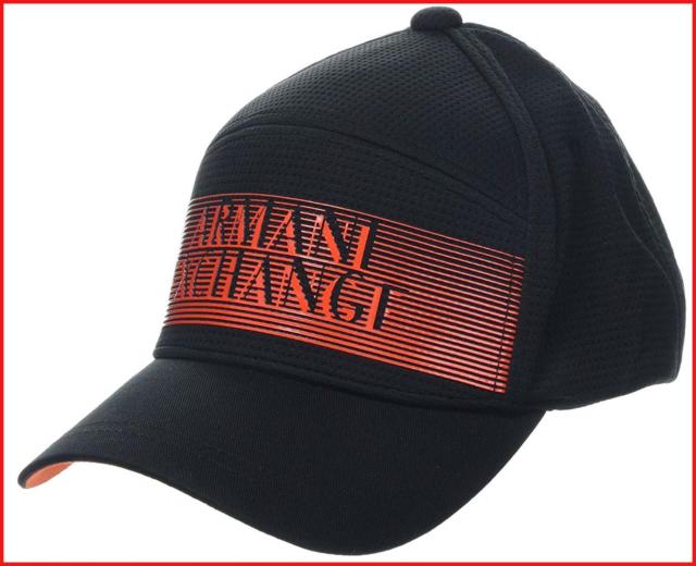 klassischer Stil billig für Rabatt neue Version Armani Exchange Men's 3D Logo Baseball Hat Cap, Black Nero 00020, One Size:  TU
