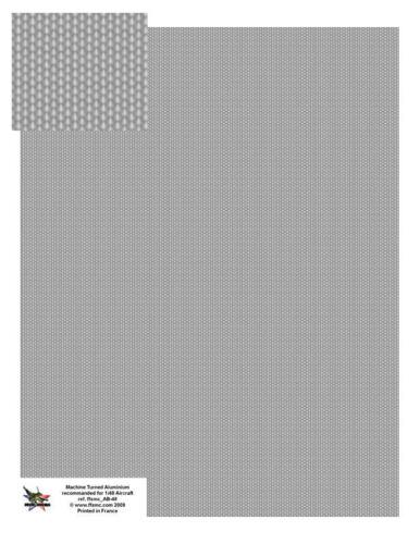 große Bogen FFSMC Productions Aufkleber 1//48 Aluminium Verkorkt
