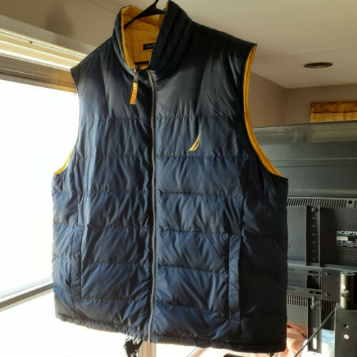 Nautica Competition Reversible Puffer Vest Duck Do