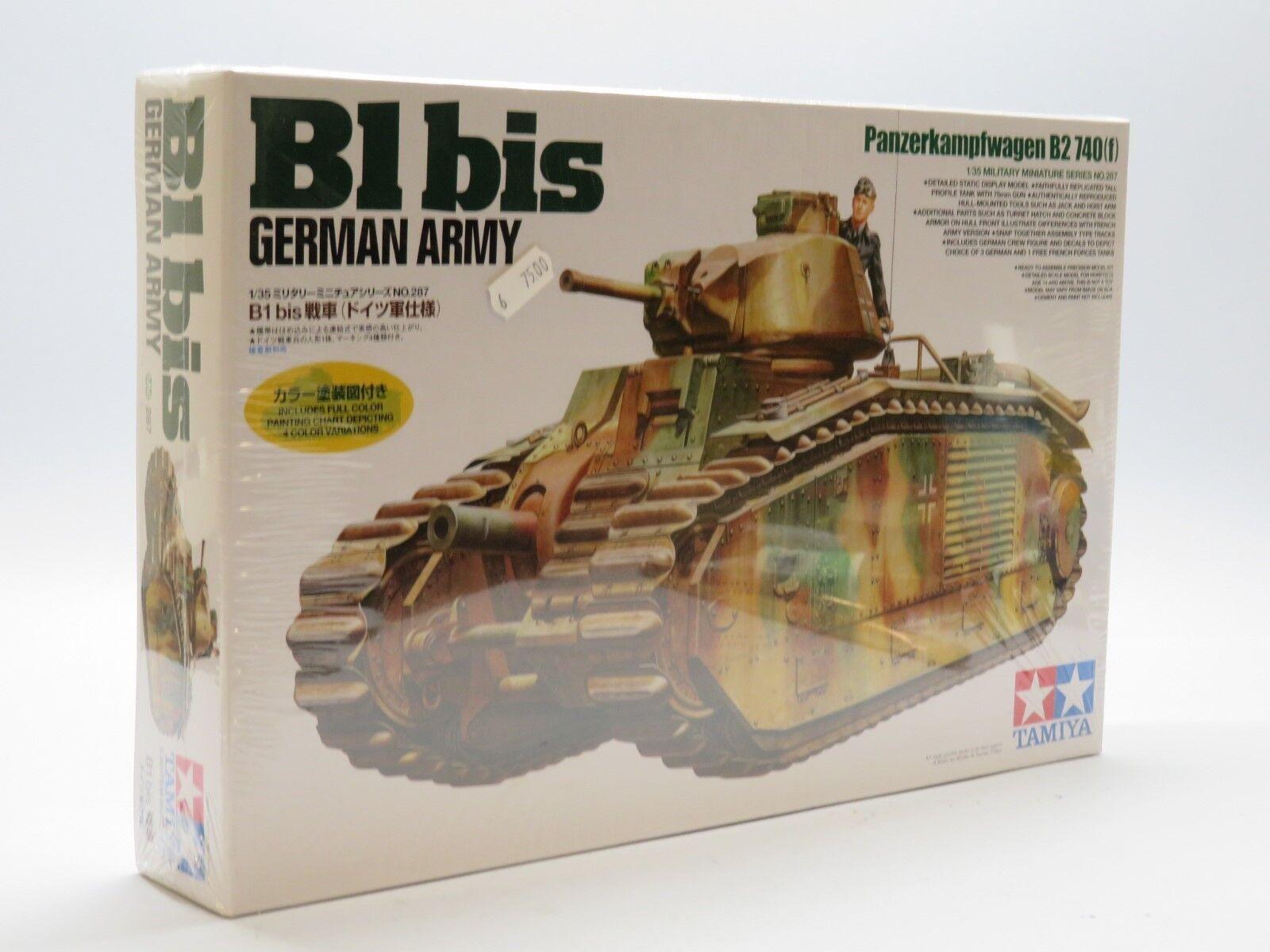 Tamiya 35287 1 1 1 35 B1 bis German Army Panzerkampfwagen B2 740(f) 36b