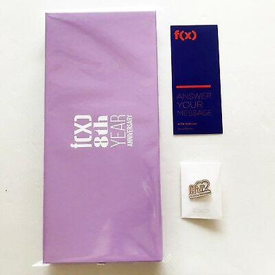 SM TOWN F(X) 8th Year Anniversary Official Wax Sealing Kit + Pin + Message Card
