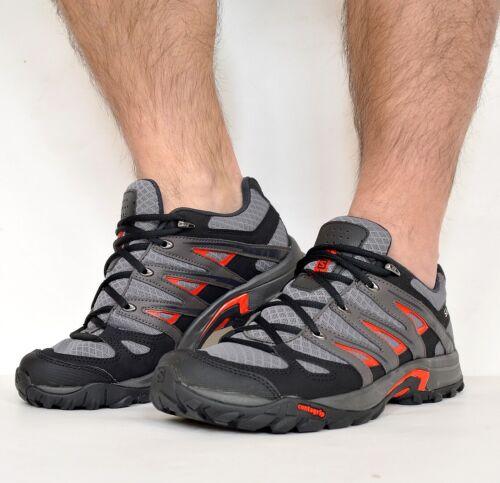 Salomon Herren Outdoor Schuhe Wanderschuhe Trekking Shoes Laufschuh grau/schwarz