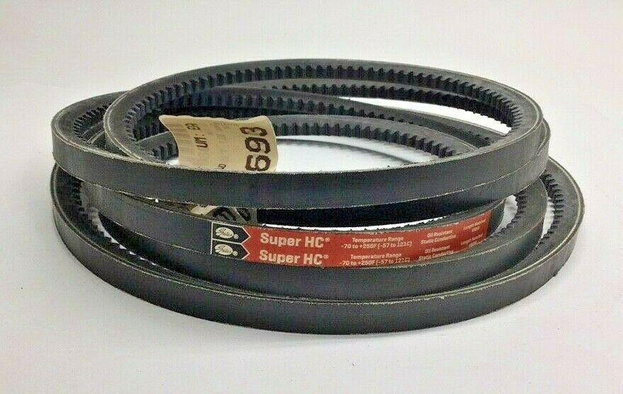 5VX Section 35//64 Height 5//8 Width Gates 5VX710 Super HC Molded Notch Belt 71 Belt Outside Circumference