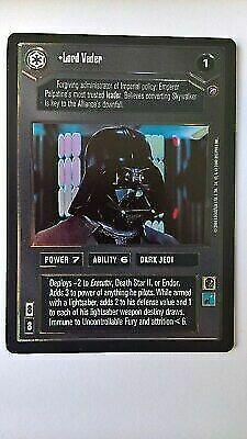 Star Wars CCG Reflections I UR FOIL Darth Vader M//NM 1