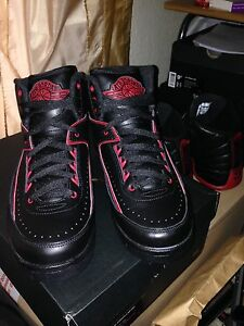 Alternate Retro Tamaño Brand Air 2 Varsity New Uk8 Red Jordan WqxxEawBI