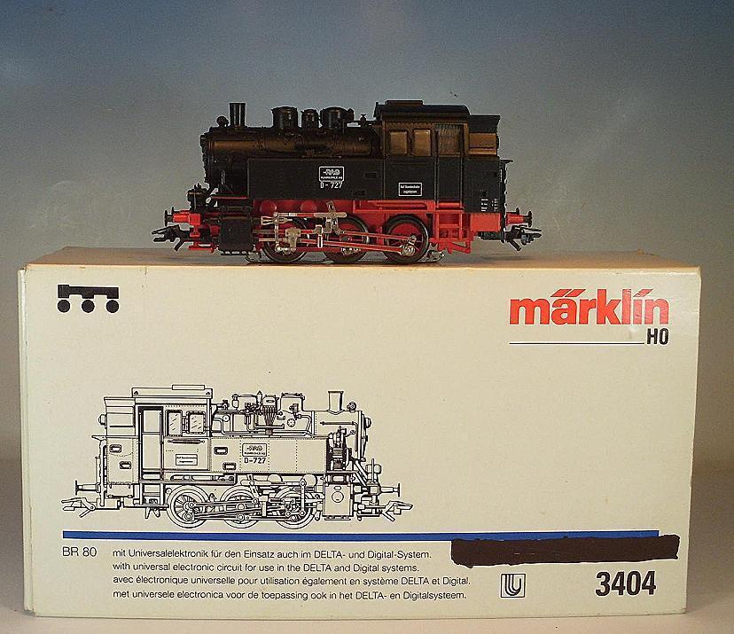 Märklin H0 3404 Dampflokomotive Baureihe 80 der RAG 2 Digital OVP  8799