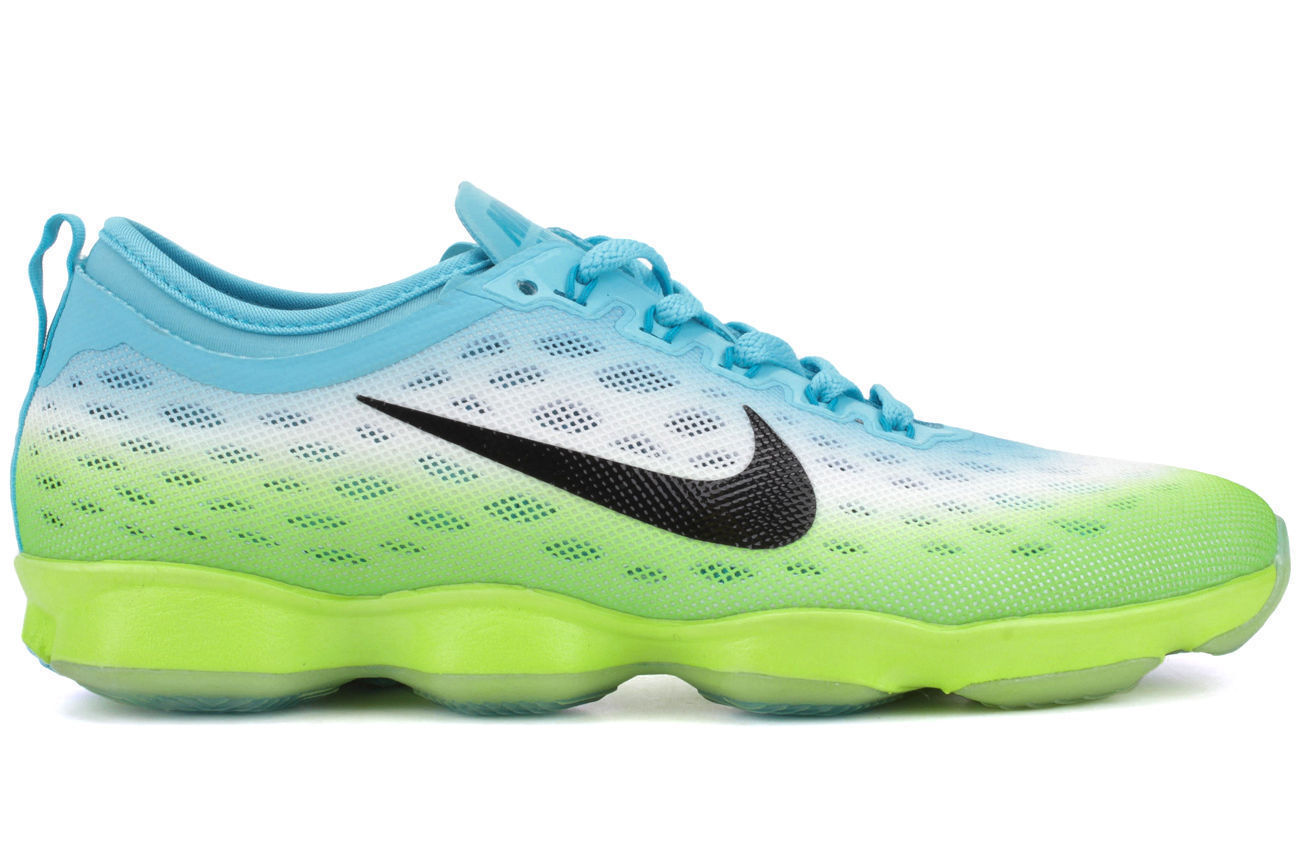 NIKE ZOOM FIT AGILITY..CLEARWATER..SIZE: WOMEN'S 10/orMEN'S 8.5..FAST SHIPPING
