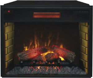 ClassicFlame 28II300GRA Infrared Ventless Electric Fireplace Insert